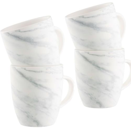 Belleek Living Marbled Mugs Set of Four